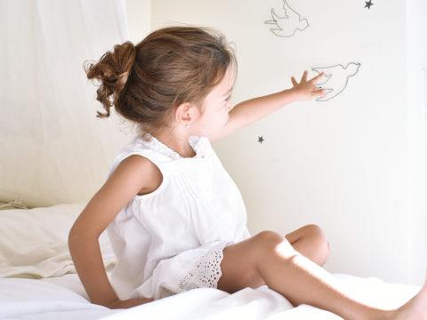 golondrinas de pared ideales para una decoración infantil llena de magia.